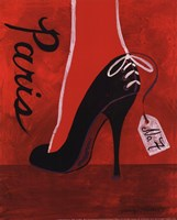 High Heels Paris Fine Art Print