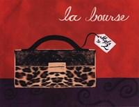 Leopard Handbag I Fine Art Print