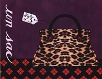 Leopard Handbag III Fine Art Print