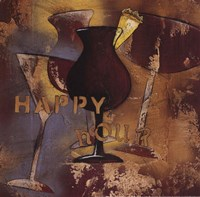 "Time for Cocktails IV by Susan Osborne - 12"" x 12"" - $9.49"