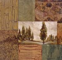 "Old World Traditions I by Susan Osborne - 18"" x 18"""