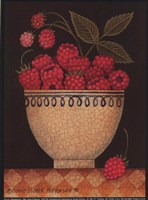 Cup O' Raspberries Fine Art Print
