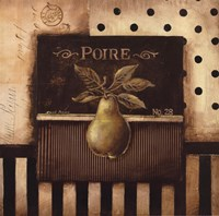 """Poire - Square by Kimberly Poloson - 12"""" x 12"""""""