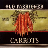 Old Fashioned Carrots Fine Art Print