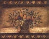Old World Abundance I Fine Art Print