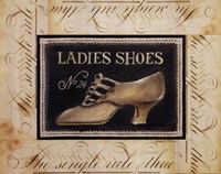 """Ladies Shoes No.24 by Kimberly Poloson - 20"""" x 16"""""""