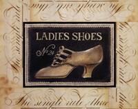 Ladies Shoes No.24 Fine Art Print