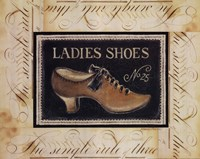 """Ladies Shoes No.25 by Kimberly Poloson - 20"""" x 16"""""""