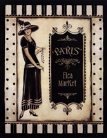 "Paris Flea Market by Kimberly Poloson - 22"" x 28"""