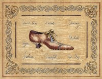 Vogue Shoe Fine Art Print