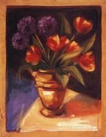 """Tulip  Dahlia by Sarah Waldron - 22"""" x 28"""""""