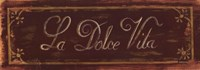 """Dolce Vita by Grace Pullen - 17"""" x 6"""""""