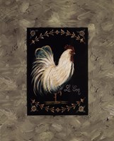"""Coq by Grace Pullen - 16"""" x 20"""""""