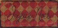 """Joyeux Noel by Grace Pullen - 16"""" x 8"""""""