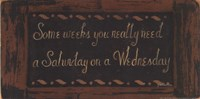 """Wednesday by Grace Pullen - 16"""" x 8"""""""