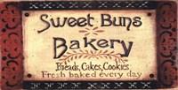 """Sweet Buns by Grace Pullen - 16"""" x 8"""""""
