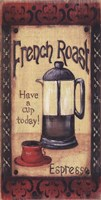 French Roast Framed Print