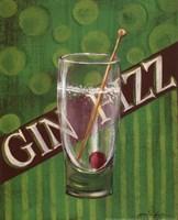 """Gin Fizz by Grace Pullen - 8"""" x 10"""" - $9.49"""