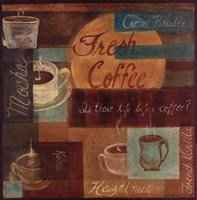 Fresh Coffee II Framed Print