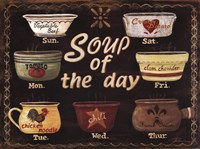 Soup of the Day Fine Art Print