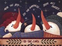 to the Lord Fine Art Print
