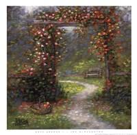 Rose Arbour I Fine Art Print