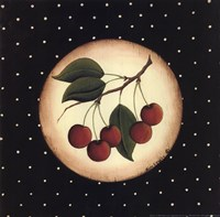 5 Cherries Fine Art Print