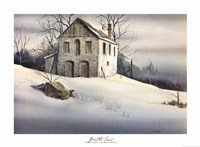 """Gentle Snow by Michael Humphries - 30"""" x 22"""""""