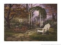 Heavenly Morning Framed Print