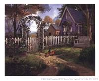 "Autumn Breeze by Michael Humphries - 6"" x 4"""