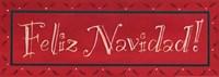 """Feliz Navidad by Stephanie Marrott - 17"""" x 6"""""""