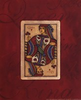 "Queen Card by Stephanie Marrott - 8"" x 10"""
