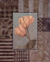 Large Tulips Framed Print