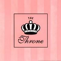 Throne Framed Print
