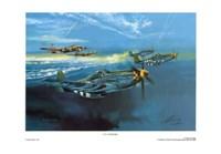 P-51 Mustang Fine Art Print