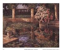 "Garden Impressions by Van Martin - 11"" x 9"", FulcrumGallery.com brand"