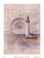 "Navigational Astrolade II by Martin Figlinski - 6"" x 8"""