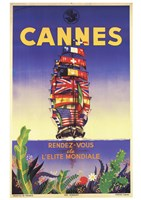Cannes Framed Print