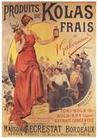 Produits de Kolas Frais Fine Art Print