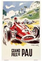 Grand Prix de Pau Fine Art Print