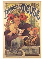 Bieres de la Meuse Framed Print