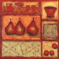"Cuisine II by Francoise Persillon - 20"" x 20"""