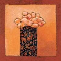 "Summerflowers I by Lita Van Engelenhoven - 28"" x 28"", FulcrumGallery.com brand"