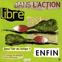 "Libre by Francoise Persillon - 12"" x 12"""