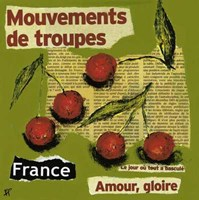 "France by Francoise Persillon - 12"" x 12"""