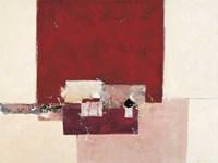"""Abstrakt I by Ron Van der Werf - 47"""" x 35"""""""