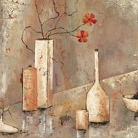 """Lady Bird by Veronique Mansart - 28"""" x 28"""""""