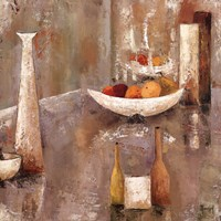 "Reflet De Fruits by Veronique Mansart - 28"" x 28"""