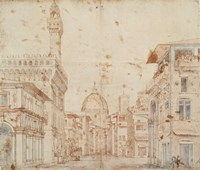 Firenze Perspective Fine Art Print