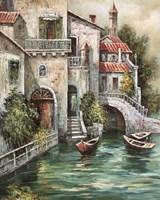 Venetian Motif II Framed Print